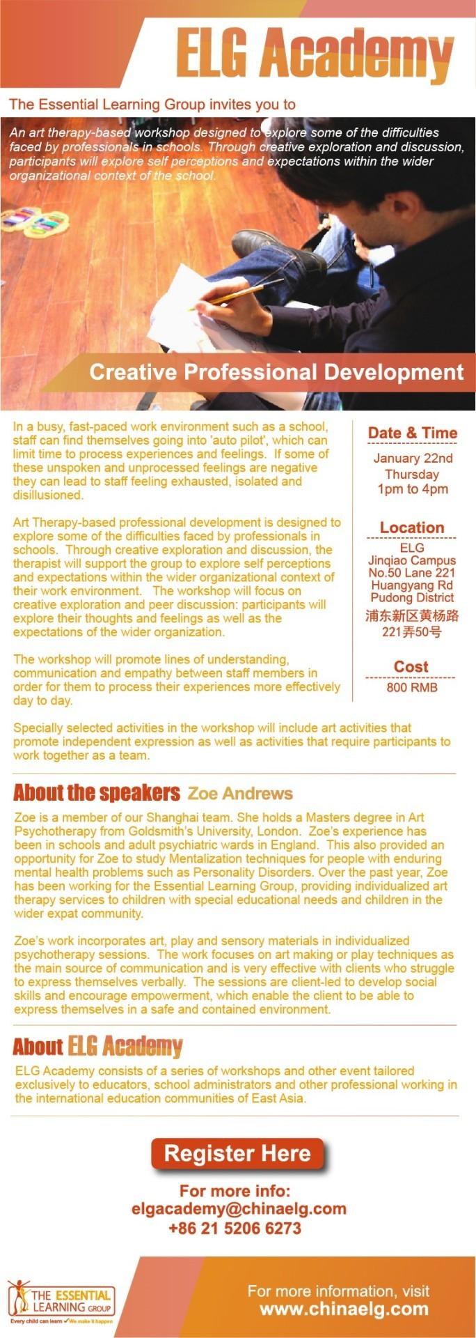 ELG Academy - Creative Professional Development
